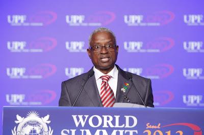 President of Guinea-Bissau, H.E. Manuel Serifo Nhamadjo
