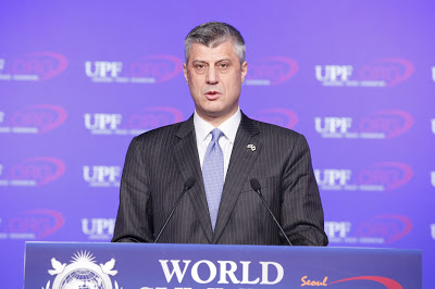 Hon. Hashim Thaci, Prime Minister of Kosovo