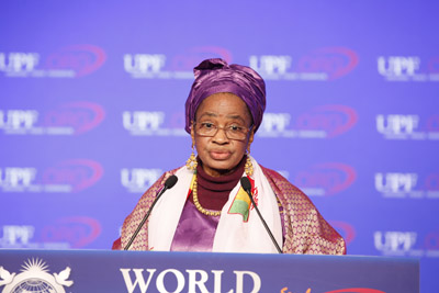 First Lady of Mali, Mme Mintou Doucoure Traore