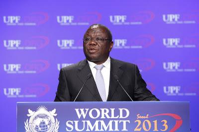 Rt. Hon. Morgan R. Tsvangirai, Prime Minister of Zimbabwe