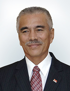 Anote Tong, President of the Republic of Kiribati